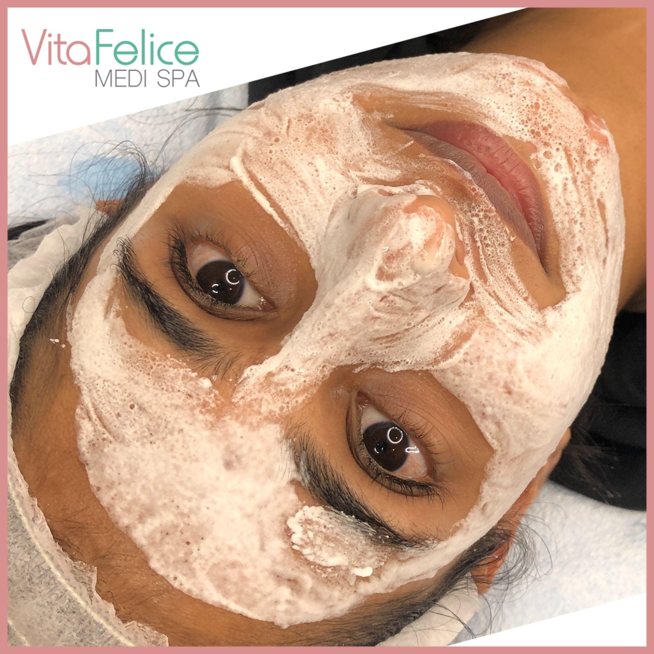 Oxygen Mask at Vita Felice near Surrey